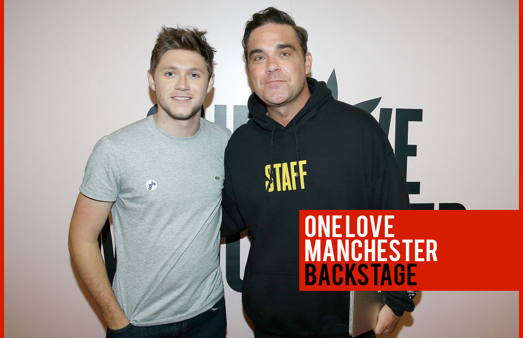 One Love Manchester : les photos Backstage