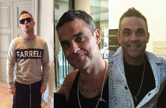 Retour de Robbie à Los Angeles : les photos