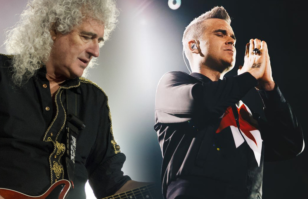 Brian May applaudit Robbie Williams !