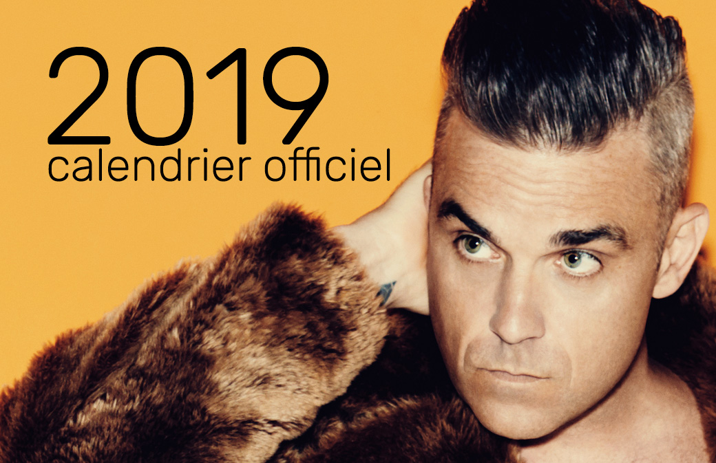 Commandez le Calendrier Officiel 2019 !