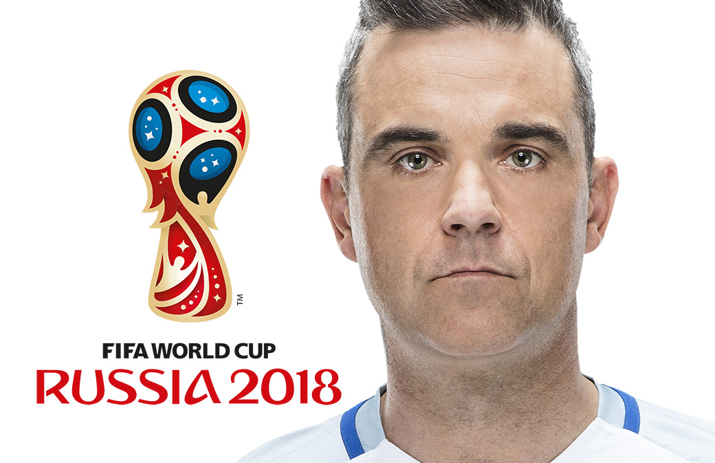 Coupe du Monde de Foot : Robbie Williams chantera lors de la cérémonie d'ouverture