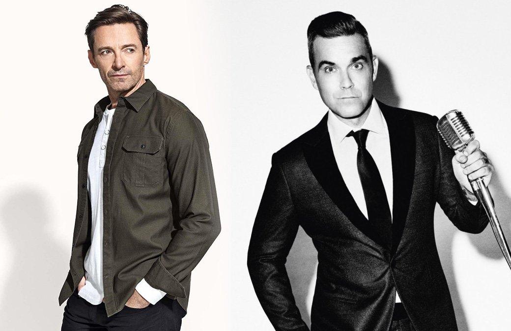Robbie va bientôt chanter avec Hugh Jackman
