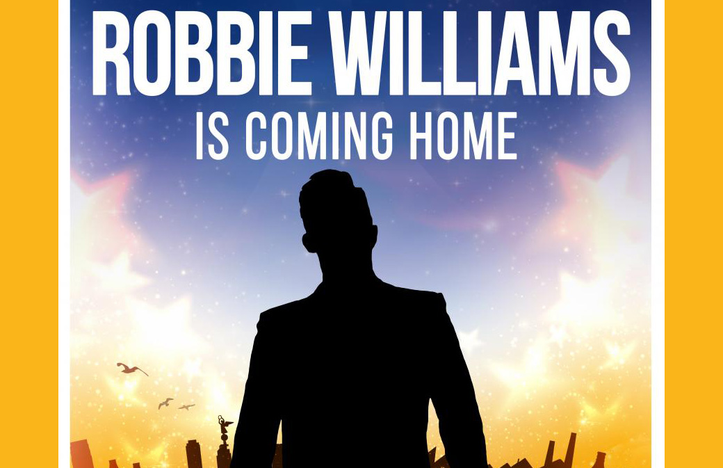 Robbie Williams is Coming Home : concert dans sa ville natale