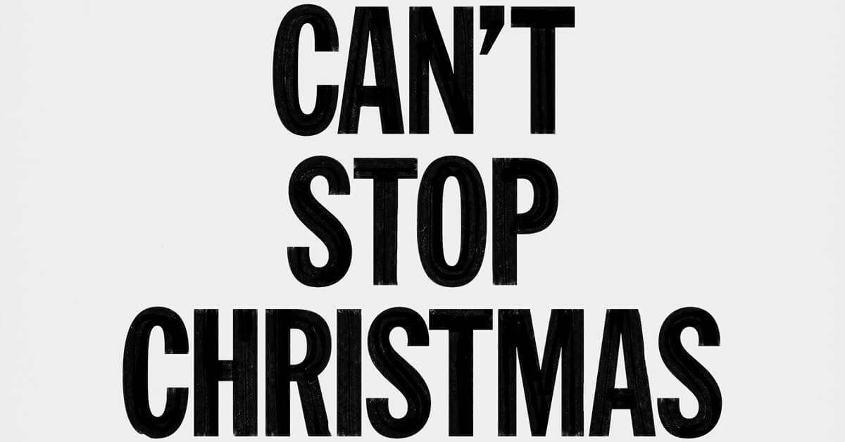 Nouveau Single : Can't Stop Christmas