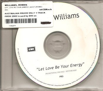 Let Love Be Your Energy (Promo - Australie)