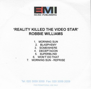 Reality Killed The Video Star (Promo - 5)
