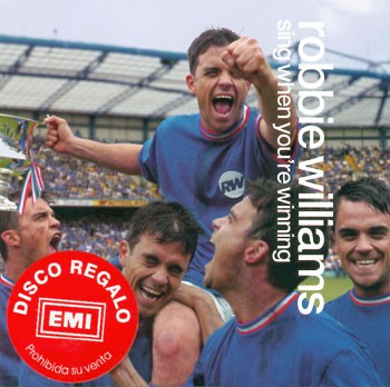 Sing When You're Winning (Colombie - Promo)