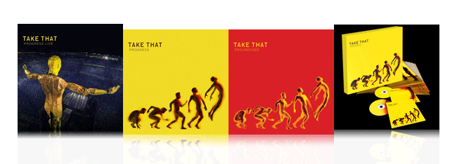 Albums avec Take That
